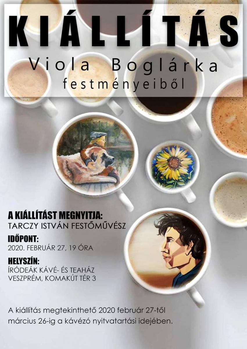 Viola Boglárka fesménykiállítása